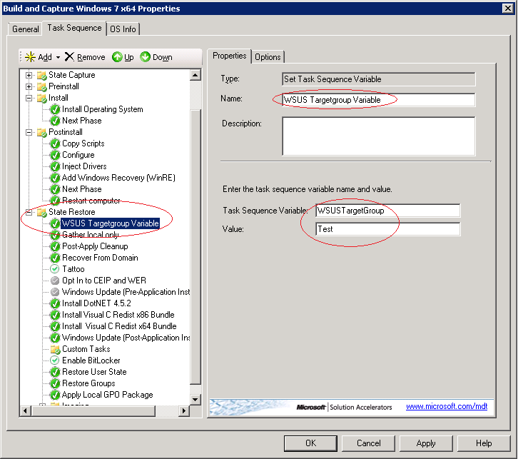 SCCM Deploy – Using WSUS when building MDT reference images