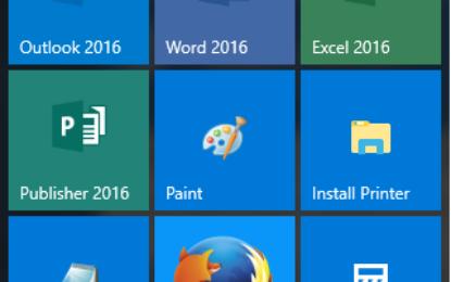 Windows 10 – Setting up Custom Tiles Menu for Default User