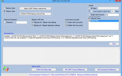 USMT GUI – Migrate Users without SCCM